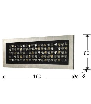 Bajorrelieve CUBIC rectangular - Schuller 751213