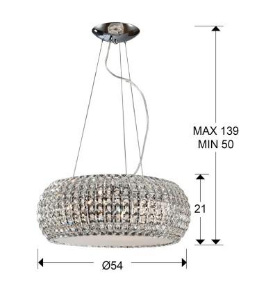 Colgante DIAMOND grande - Schuller 507514