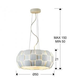 Colgante QUIOS 5 luces - Schuller 124346