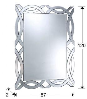 Espejo ALHAMBRA rectangular- Schuller 385415
