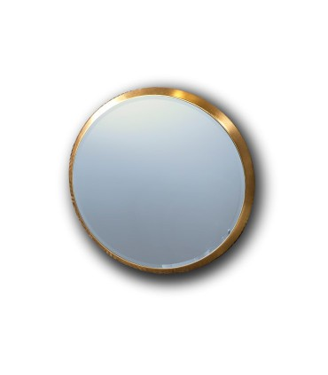 Espejo ARIES redondo 44 cm. oro - Schuller 119015