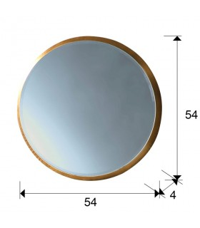Espejo ARIES redondo 54 cm. - Schuller 119122