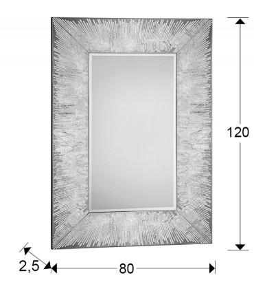 Espejo AURORA plata - Schuller 569120