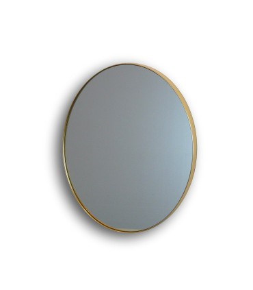 Espejo ORIO oval 51x61 oro - Schuller 127233
