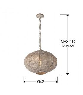 Lampara 1 luz INDIA 42cm - Schuller 482164