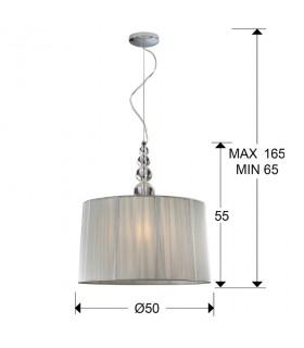 Lámpara 50 MERCURY transparente - Schuller 663554