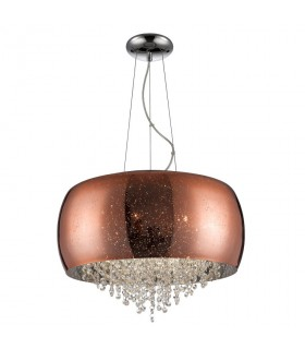 Lámpara CAELUM cobre 50cm - Schuller 618859