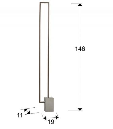 Lámpara de pie LIMIT marrón - Schuller 761690