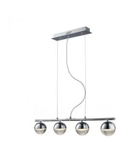 Lampara FLAVIA 4L LED cromo - Schuller 625211