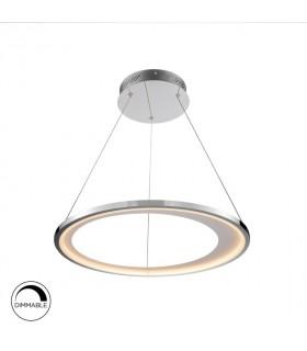 Lámpara led LARIS 62cm cromo dimable - Schuller 281275