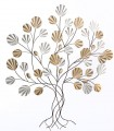 Adorno de pared metal ARBOL 84.5x8x92.7cm