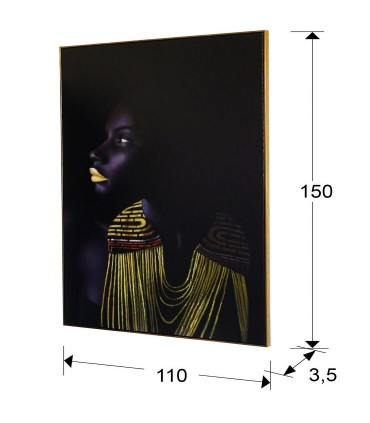 Lienzo impreso HIMBA 110x150 - Schuller 421862