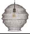 Lámpara techo rejilla plata 40.6cm