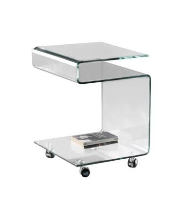 Mesa auxiliar GLASS transparente - Schuller 552522
