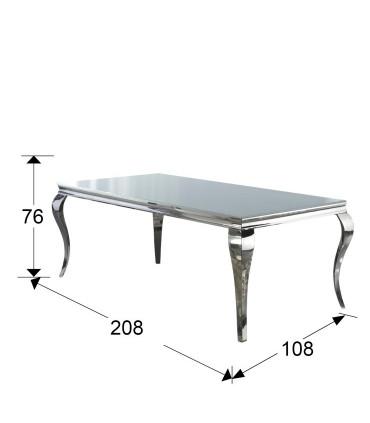 Mesa comedor BARROQUE 200cm - Schuller 792107/20691