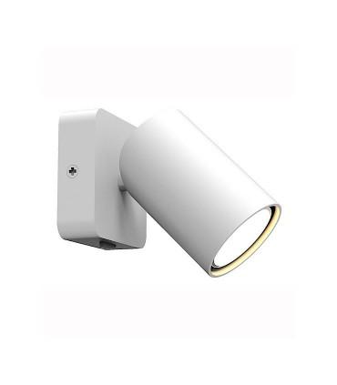 Foco SAL 1 luz Blanco GU10 Con Interruptor 6284 Mantra