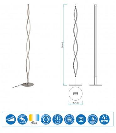 Lámpara de pie SAHARA XL 4866 de Mantra