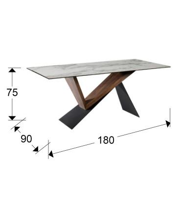 Mesa comedor NOA 180x90cm - Schuller