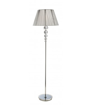 Pie salón MERCURY transparente 1 luz - Schuller 661917