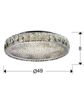 Plafón led DANA 39cm 456231 - Schuller