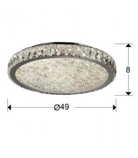 Plafón led DANA 49cm 456120 - Schuller