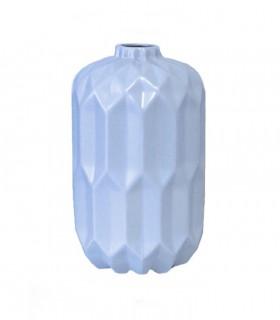 Jarrón cerámica AZUL mate