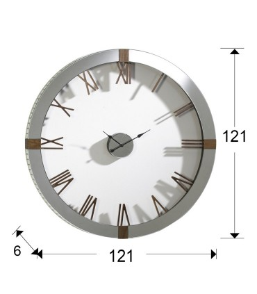 Reloj de pared TIMES - Schuller 564803