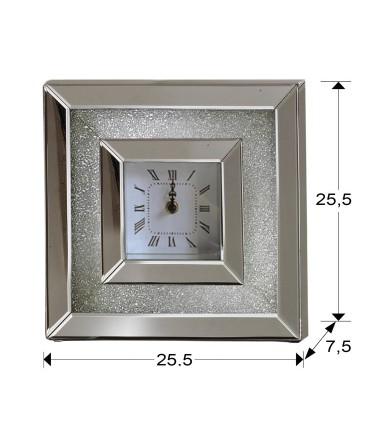 Reloj de sobremesa ABRIL 26x26cm - Schuller 765376