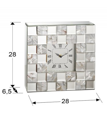 Reloj sobremesa NACAR 28X28cm - Schuller 495663