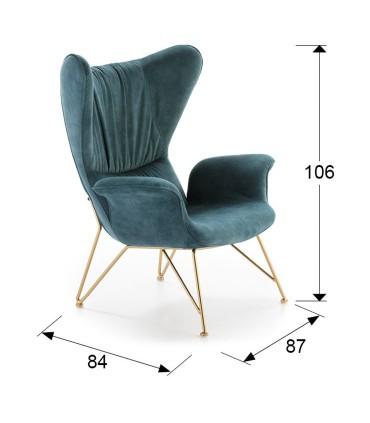 Sillón SACHA azul - Schuller 695190