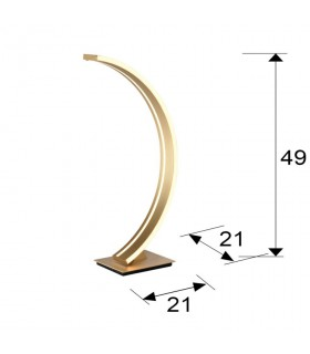 Sobremesa ARCUS oro - Schuller 589316