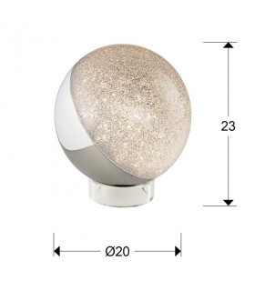 Sobremesa SPHERE 1 luz led 20cm - Schuller 794528