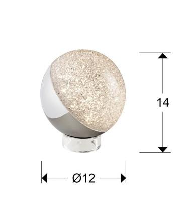 Sobremesa SPHERE1 luz led 12cm - Schuller 794485