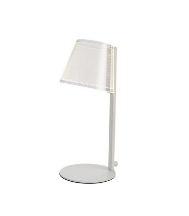 Lámpara de mesa LED 6W dimmable Elna blanco