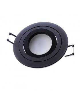 Foco empotrable Helium GU10 redondo negro