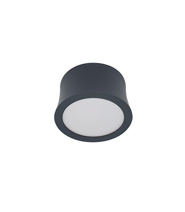 Foco superficie Gower LED Negro 7W - Mantra