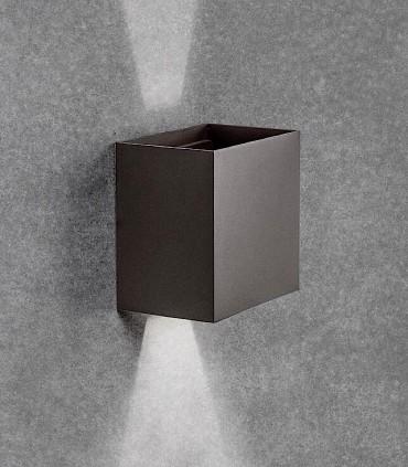 Aplique Davos XL 7435 gris oscuro IP65 - Mantra