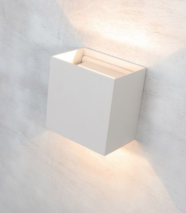 Aplique Davos XL 7436 blanco 20W IP65 - Mantra
