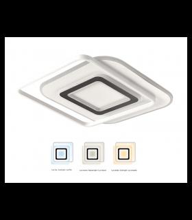 Plafón LED Lyra 100W CCT dimmable con cambio de tonalidad de luz