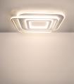 Plafón LED Lyra 100W CCT dimmable con luz cálida seleccionada