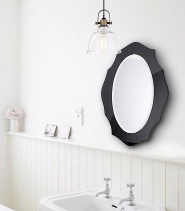 Lámpara colgante transparente - latón Ø20cm E27