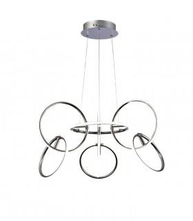Lámpara Mediana AROS LED 81W con Mando De Mantra