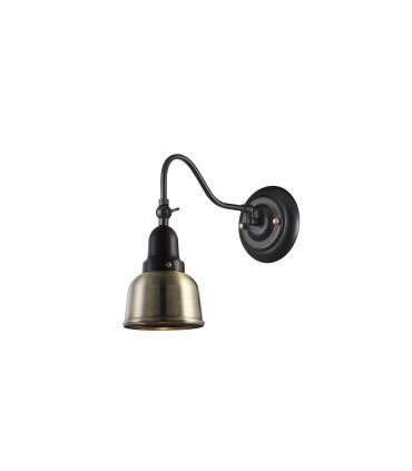 Aplique orientable metal bronce antiguo Ø12cm E27