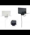 Apliques pared TD3 metal  E27 con cargador USB