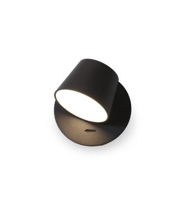 Aplique led Orientable TD4 6W negro