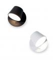 Aplique led orientable TD4 6W negro o blanco