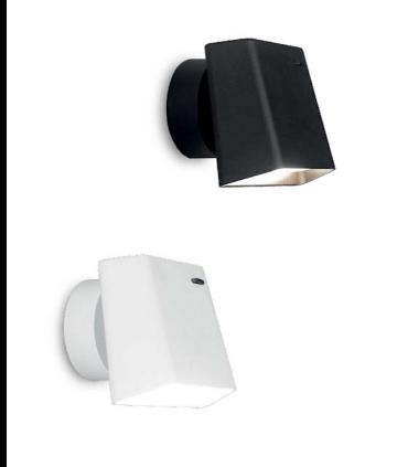 Aplique led orientable TD5 6W negro o blanco