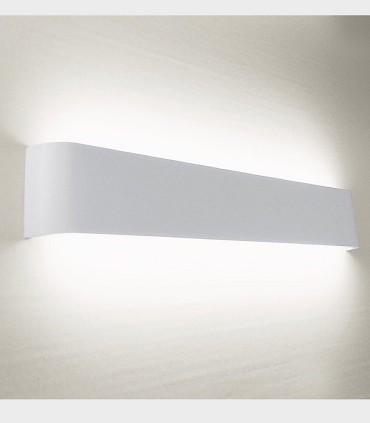 Aplique led luz indirecta TD9 24W 56.5cm blanco