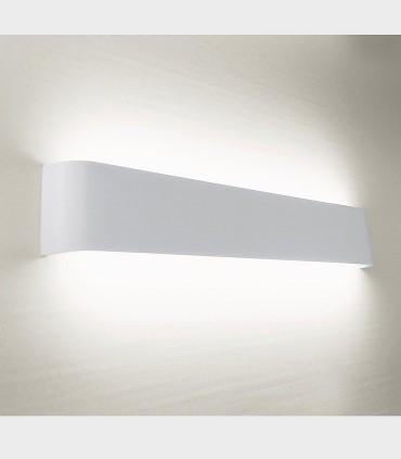 Aplique led luz indirecta TD9 14W 36.5cm blanco