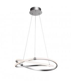 Lámpara de techo INFINITY Led Plata 42W 3000K Mantra